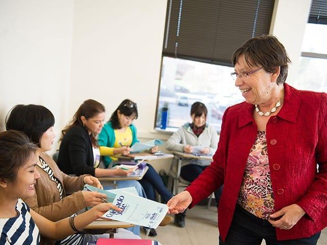 大学付属の語学プログラムで英語力が飛躍的に向上!
