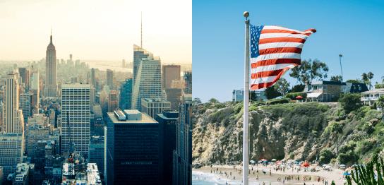 アメリカ留学で自分にピッタリの都市はどこか?すぐできる語学留学診断