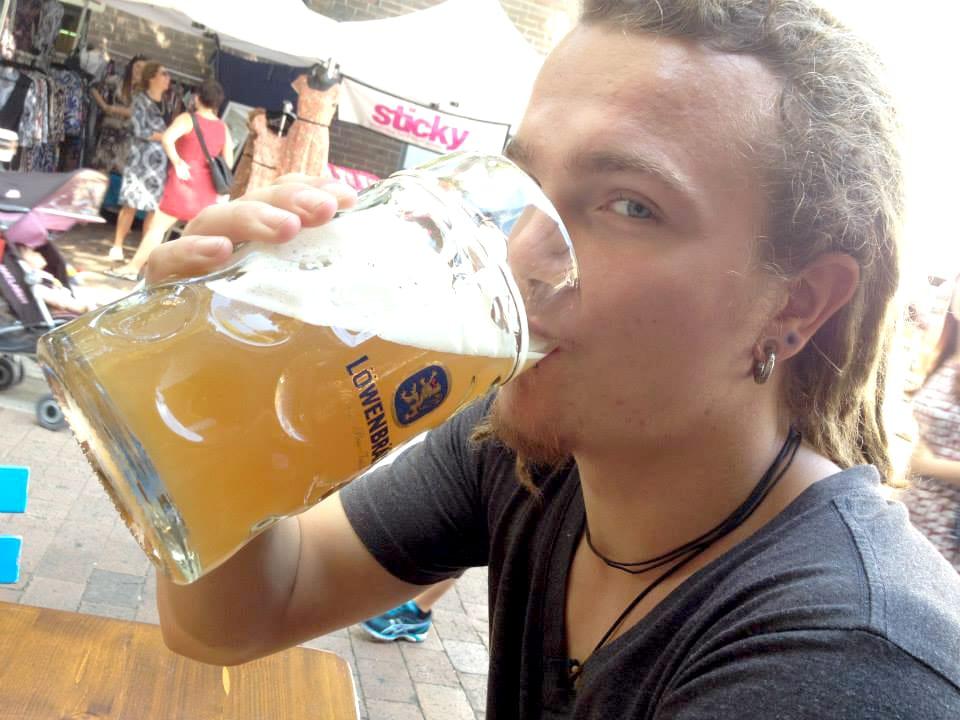 ドイツビールと彼♪