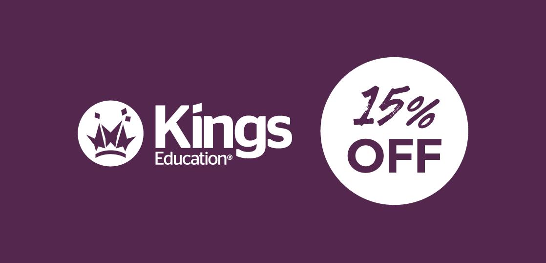 進学に強い語学学校キングス(Kings)最大25%OFFの夏限定キャンペーン!9/30まで!