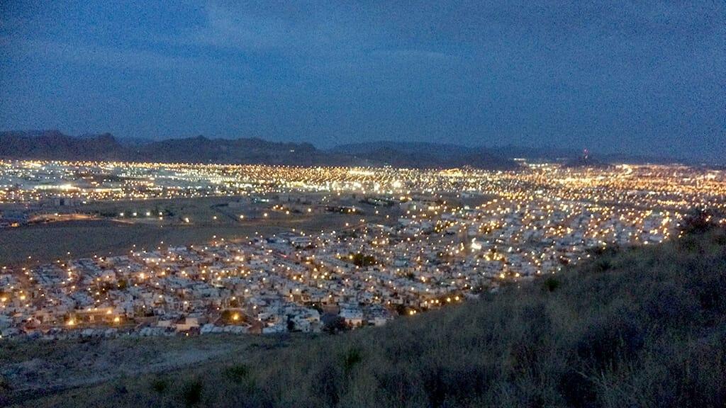メキシコの夜景