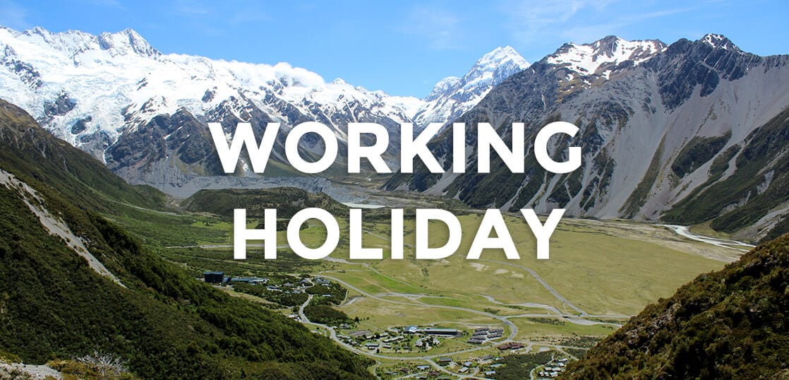 ニュージーランドでのワーホリ体験記、まだまだ挑戦できる歳