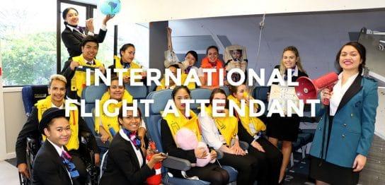 航空会社との面接を保証するニュージーランドのフライトアテンダント養成プログラムで世界に羽ばたいてみない?