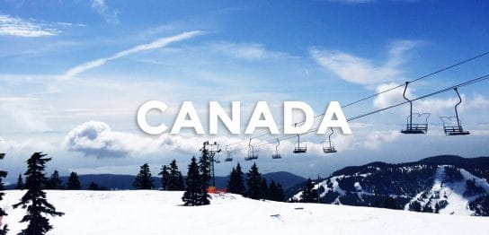 スキー&スノーボードを存分に楽しめるカナダ留学