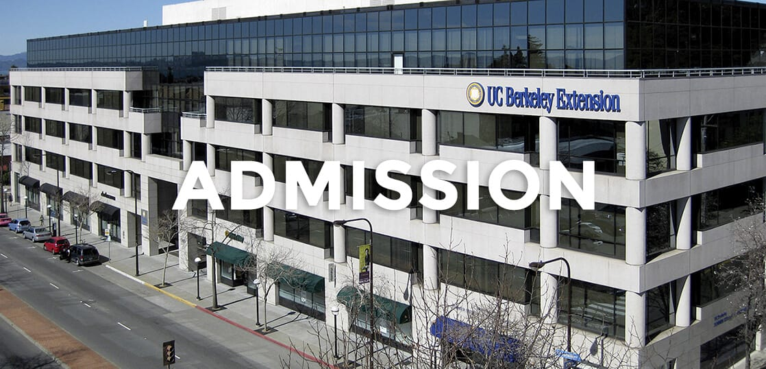 UCバークレー・エクステンションに英語スコアなしで入学する方法教えます