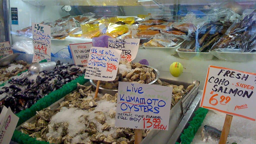 シアトルの食文化が日本に近い