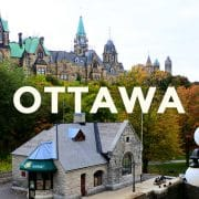 カナダ・オタワ留学がおすすめな理由!首都オタワは日本人にとって穴場の留学先?!
