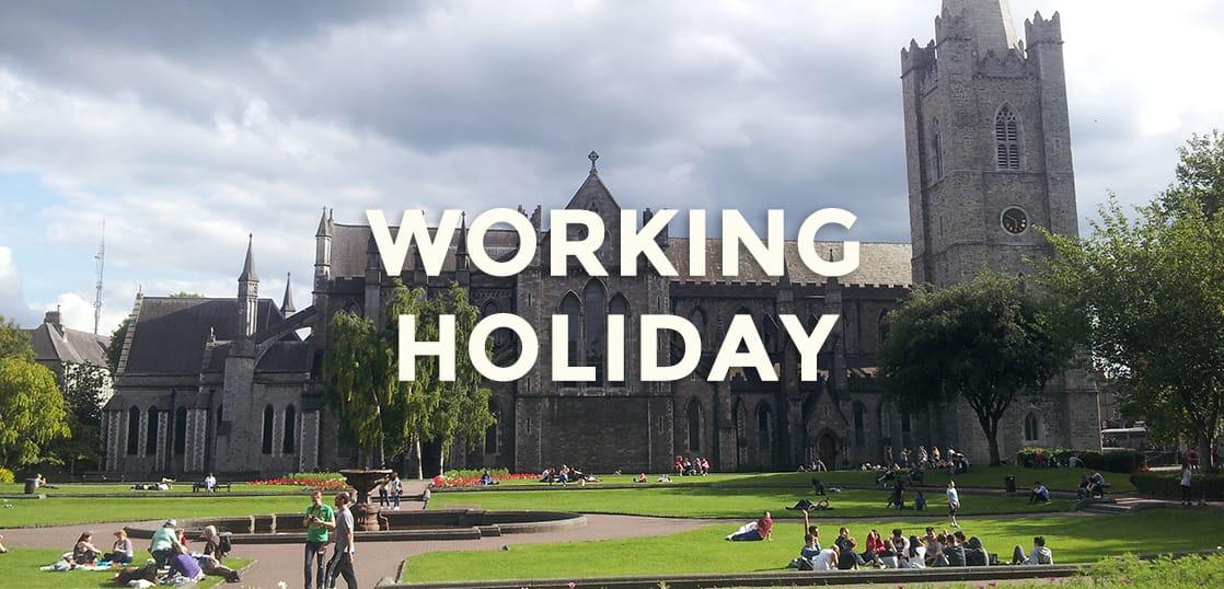 【留学体験談】ワーキングホリデーでアイルランドのダブリン滞在中