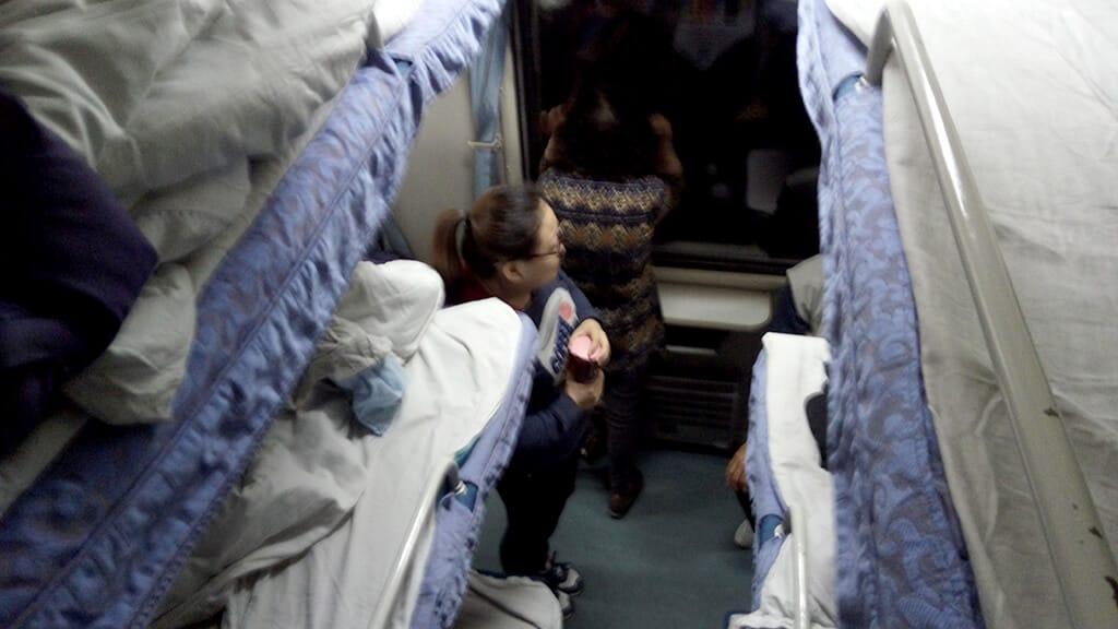 昆明の寝台列車2