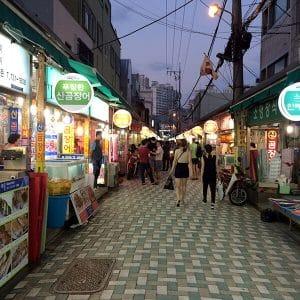 韓国留学体験1