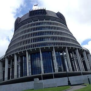 ニュージーランドの国会議事堂