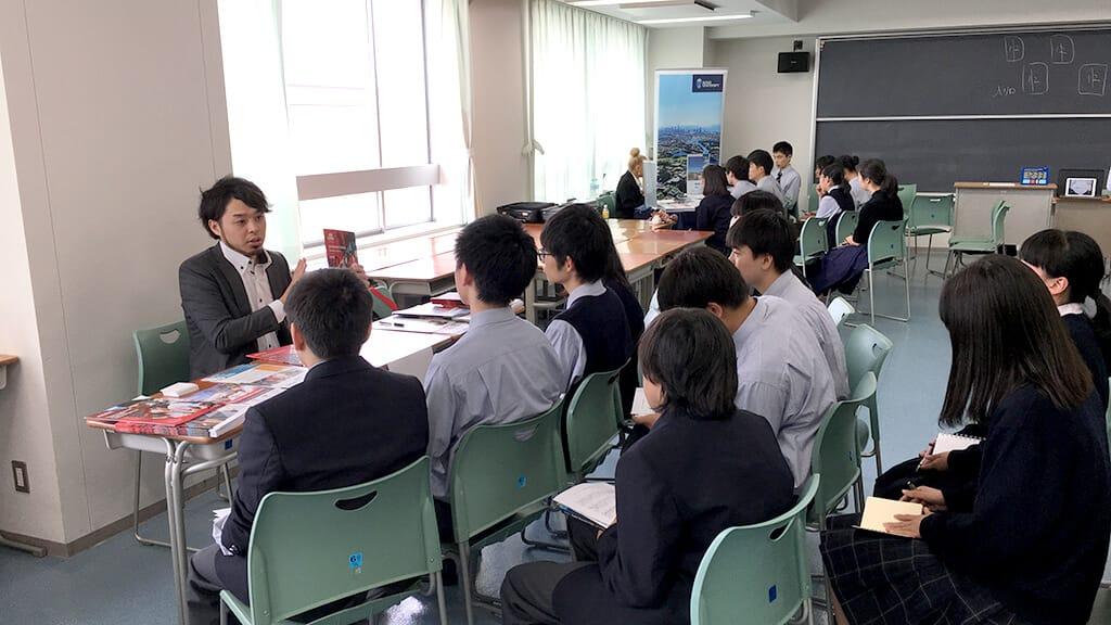 日本教育機関向け 海外大学進学フェアとは