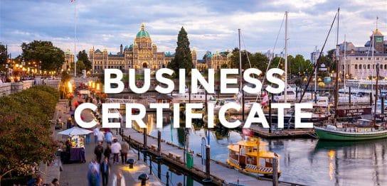 カナダのイギリス?ビクトリアにある大学でBusiness Certificateを取得!期間はたったの12週間!