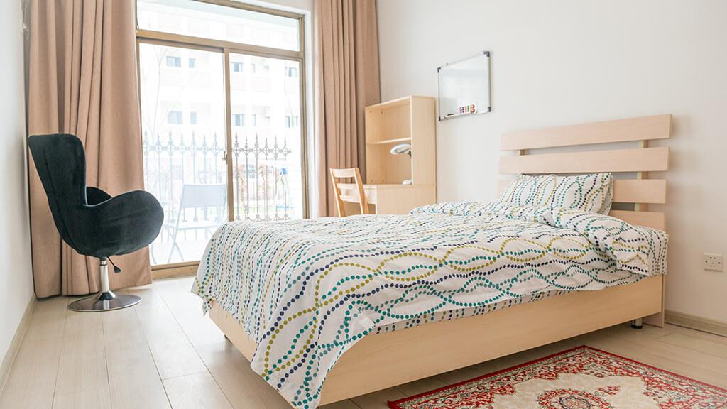 デザイン性の高い寮1