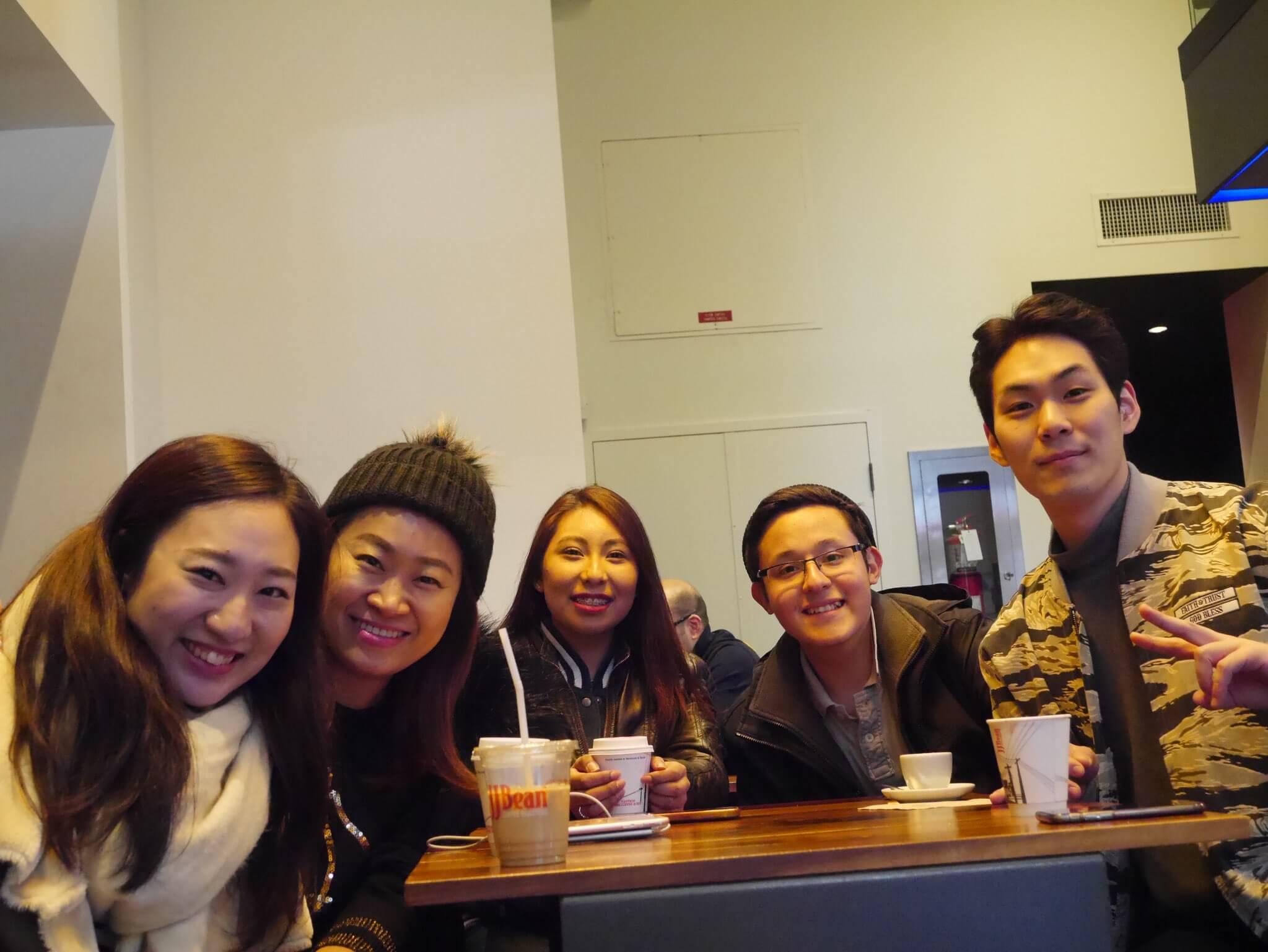 カナダ留学で友達もできました