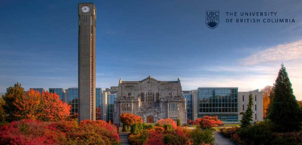 University of British Columbiaブリティッシュコロンビア大学